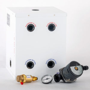 Combi boiler, one heating zone