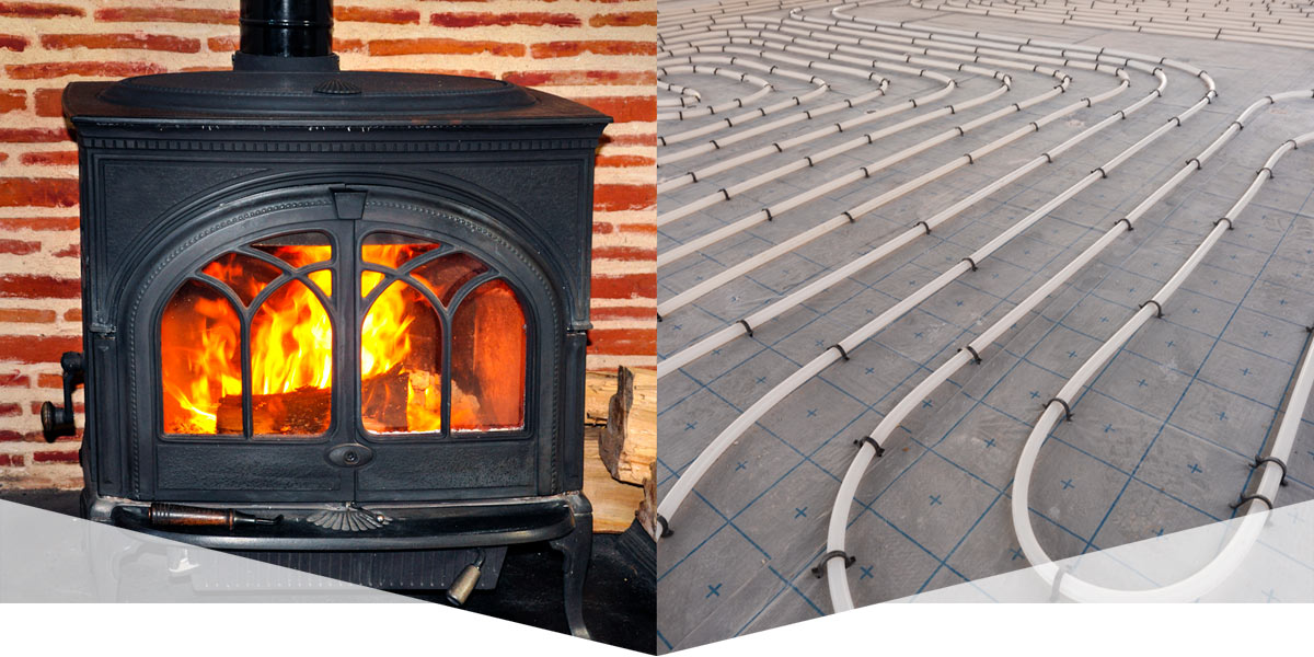 Solid fuel and underfloor heating Ireland