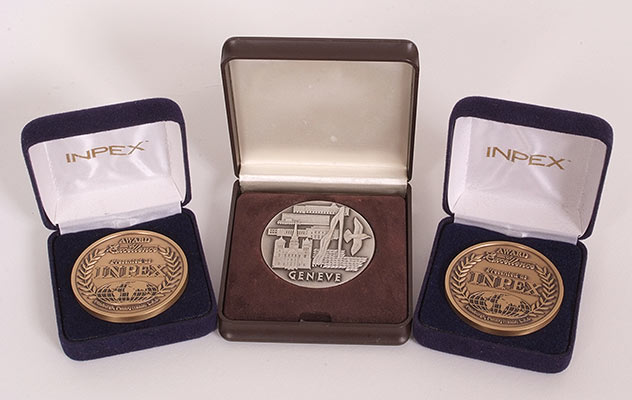 Oxyvent medals